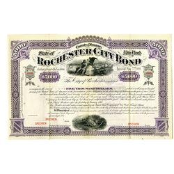 Rochester City 1888 Specimen Bond
