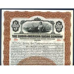 Cuban-American Sugar Co. 1921 Specimen Bond