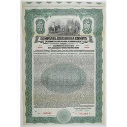 Ermita Sugar Co. 1922 Specimen Bond