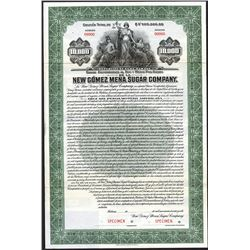 New Gomez Mena Sugar Co., ca.1906 Specimen Bond