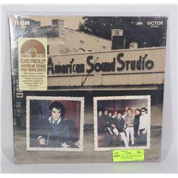 ELVIS PRESLEY RECORD RSD 2019; AMERICAN SOUND 1969