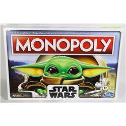STAR WARS MONOPOLY YODA THE CHILD