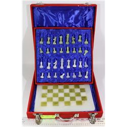 OBSIDIAN CHESS SET NEW IN BOX