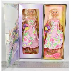 2 NEW SPRING PEDALS BARBIES