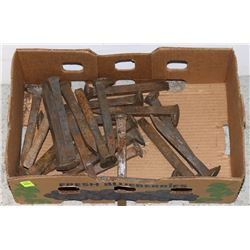 BAG OF RAILROAD SPIKES