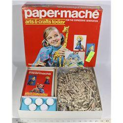 VINTAGE 1971 HASBRO PAPER MACHE