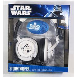 STAR WARS STORMTROOPER HEADPHONES