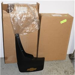 NEW CHEVY MUD FLAPS, FRONT & REAR