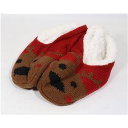 NON-SKID CHRISTMAS COZY SLIPPER SIZE 4-10