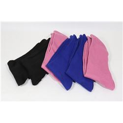 6PAIRS OF COMFY TOES SOCKS - SIZE 4 - 10