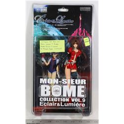 2 FIGURE SET, MON SIEUR BOME VOLUME 9 KIDDY GRADE