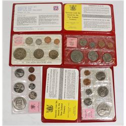 x6 NEW ZEALAND MINT SEALED COIN SETS