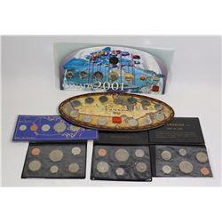 x6 VARIOUS CANADA MINT COIN SETS