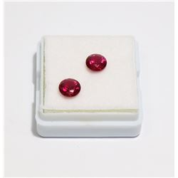 #291-RED RUBY GEMSTONE (6mm) 2.0ct