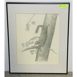 FRAMED MATTED JOHN DAYNES SIGNED NUMBERED PRINT