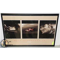 DALE JR 24X36 FRAMED POSTER NASCAR