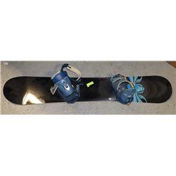 BURTON CUSTOM 160 SNOWBOARD WITH BINDING