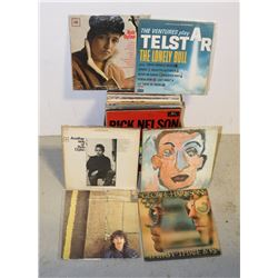 BOX OF BOB DYLAN; GEORGE HARRISON; OTHERS RECORDS