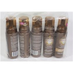 5 JERGENS SUNLESS TANNING MOUSSE