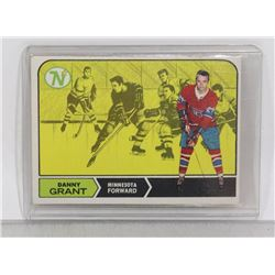 DANNY GRANT 1968-69 ROOKIE CARD CANADIENS