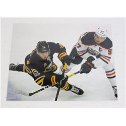 CONNOR MCDAVID JACK EICHEL FIRST GAME 8X10 PHOTO
