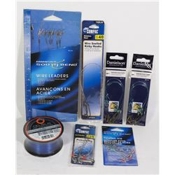 BAG OF NEW FISHING TACKLE SUPPLIES INCLUDING