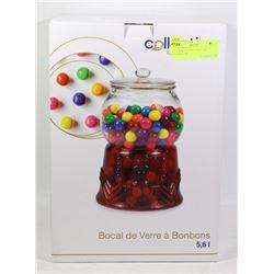 NEW 5.6L GLASS CANDY JAR/ COOKIE JAR