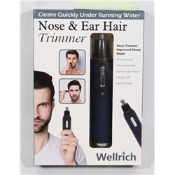 NEW RECHARGEABLE EAR AND NOSE HAIR TRIMMER