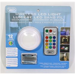 NEW WIRELESS LED LIGHT WITH REMOTE