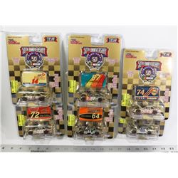 LOT OF SIX 1:64 SCALE 50TH ANNIVERSARY NASCARS