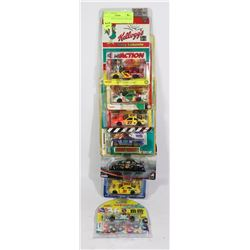 LOT OF SEVEN 1:64 SCALE NASCARS