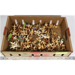 FLAT OF ASSORTED TREE DECOR INCLUDING ANGELS AND