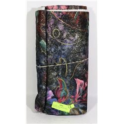 NEW BOLT OF FLOWERED PRINT MATERIAL (7 M)