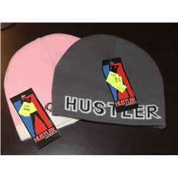 LOT OF TWO HUSTLER TOQUES