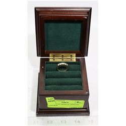 BOMBAY CO. MUSICAL JEWELRY RING BOX