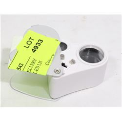 30+60 POWER JEWELRY MAGNIFIER WITH LED LIGHT