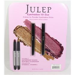 NEW JULEP EYESHADOW 101 DUO CR?ME-TO- POWDER