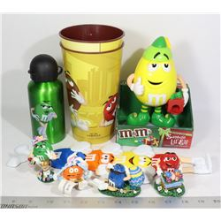 M & M'S 9 X NEW IN BOX ITEMS