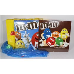 M & M'S BAGS AND CALENDARS