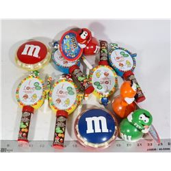 M & M'S 10 FULL TINS AND MORE