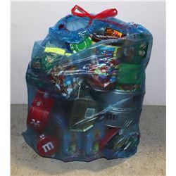 M & M'S GIANT BAG OF TINS