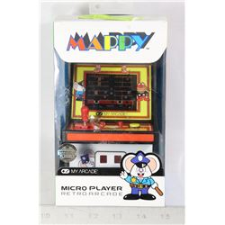 NEW MY ARCADE MAPPY ARCADE MICRO GAME CABINET