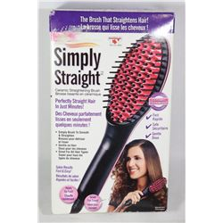 SIMPLY STRAIGHT CERAMIC STRAIGHTENING