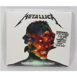 METALLICA HARDWIRED TO SELF DESTRUCT 2 CD SET