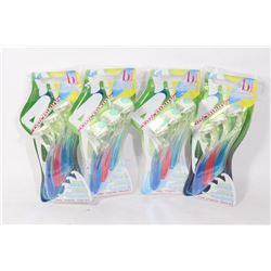 FOUR 3 PACKS OF DISPOSABLE BIKINI BLADES