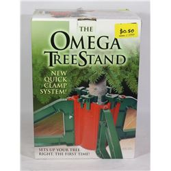 NEW THE OMEGA CHRISTMAS TREE STAND