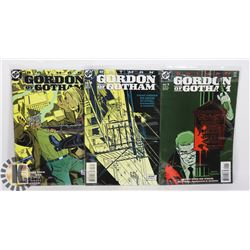 3 VINTAGE BATMAN GORDON OF GOTHAM COMICS