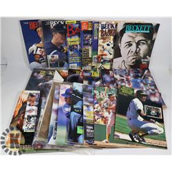 MAGAZINES - BOX OF MOSTLY BECKETT - BABE RUTH;