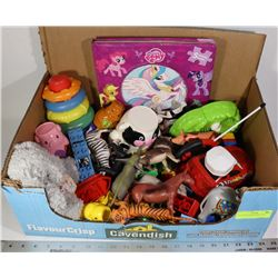 LOT OF ASSORTED BABY TOYS