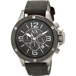 NEW ARMANI EXCHANGE 48MM TRIPLE CHRONO MSRP $299
